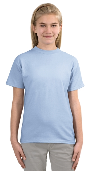 Hanes® 5380 Youth Beefy-T® Born to Be Worn 100% ...