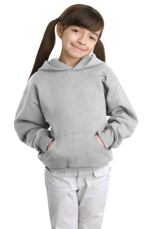 Hanes® P470 Youth Comfortblend® EcoSmart® Pullover Hooded Sweatshirt