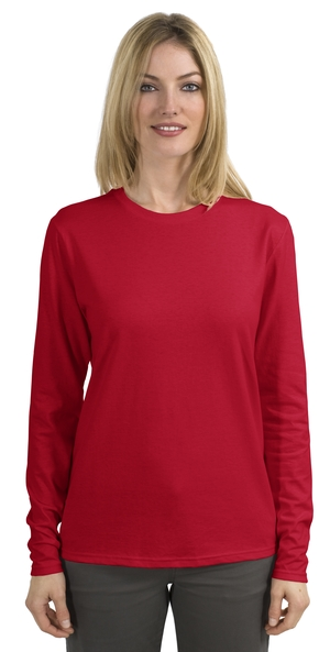 Hanes® 5580 Ladies ComfortSoft® Long Sleeve T-Shirt