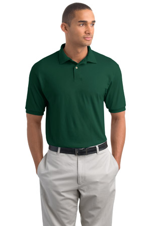 Hanes H960  StayClean5.6-Ounce Jersey KnitSport Shirt.