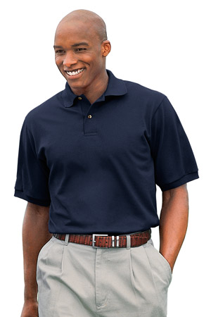 JERZEES 6.5-Ounce Pique Knit Sport Shirt.