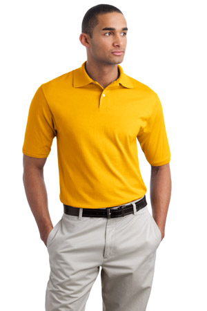 JERZEES5.6-Ounce Jersey Knit Sport Shirt with SpotShield.