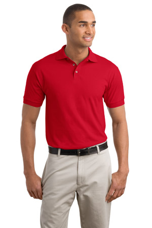 JERZEES5.6-Ounce Jersey Knit Sport Shirt.