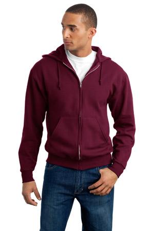 JERZEESFull Zip Hooded Sweatshirt.