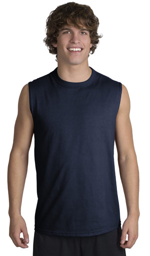 JERZEES Sleeveless T-Shirt.
