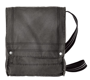 District Threads DT703 Vertical Notebook Canvas Field Bag.