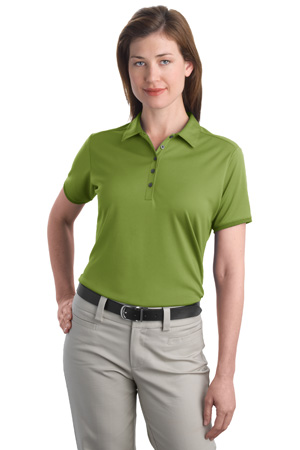Port Authority® L498 Ladies Poly-Bamboo Charcoal Birdseye Jacquard Polo