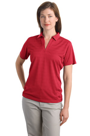 Port Authority® L526 Ladies Dry Zone™ Horizontal Texture Polo