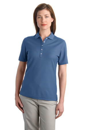 Port Authority® L800 Ladies EZCotton™ Pique ...