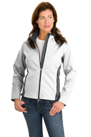 Port Authority® L794 Ladies Two-Tone Soft Shell Jacket