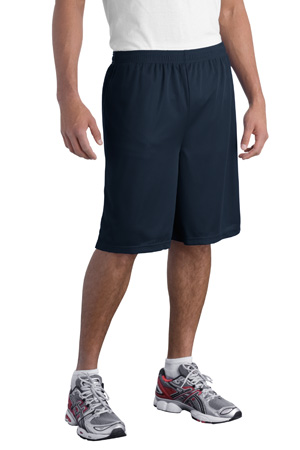 Sport-Tek® T515 Long Mesh Short