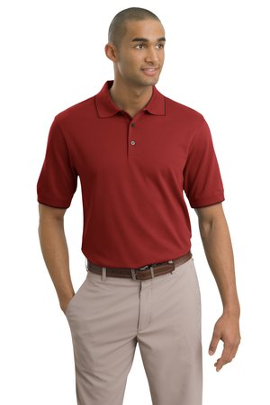 Nike Golf 244618 Dri-FIT Pique II Tipped Polo