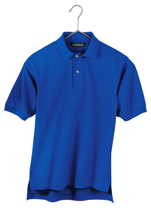 Outer Banks 5011  6.8-Ounce Pique Knit Sport Shirt.