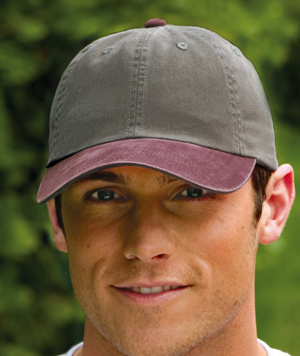 Port Authority® PWTTU Two-Tone Garment-Washed Cap