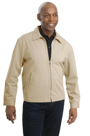 Port Authority J737 Casual Cotton Twill Jacket.