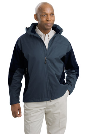 Port Authority® J768 男士撞色涤纶外套