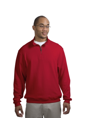 Port Authority® F220 Flatback Rib 1/4-Zip Pullover