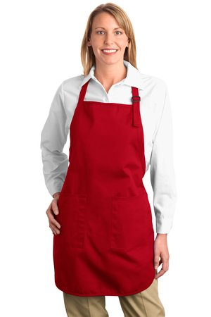 Port Authority® A500 Full Length Apron with Pockets