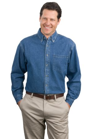 Port Authority® S100 Heavyweight Denim Shirt