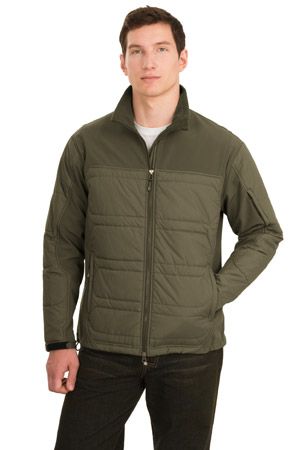 Port Authority® J735 Hybrid Soft Shell Jacket
