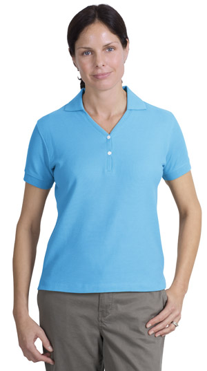 Port AuthorityLadies 100% Pima Cotton Sport Shirt.