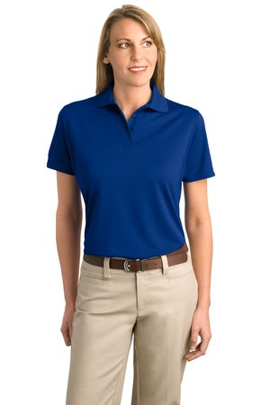 Port Authority® L497 Ladies Poly-Bamboo Charcoal Blend Pique Polo