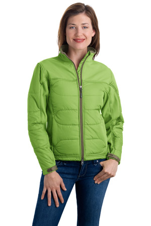 Port AuthorityLadies Hybrid Soft Shell Jacket.