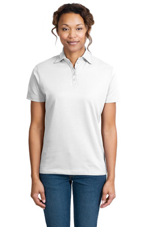 Port AuthorityLadies Pima Select Sport Shirt with PimaCool Technology.