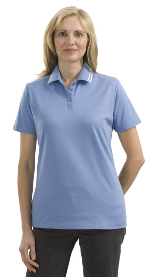 Port Authority® L486 Ladies Pima Select Sport Shirt with Trim