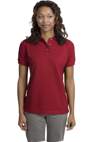 Port Authority® L420 Ladies Pique Knit Polo