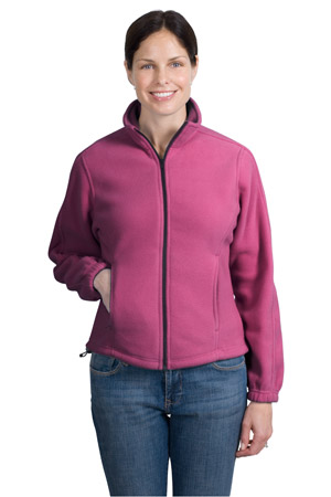 Port Authority® LP77 Ladies R-Tek® Fleece Full-...