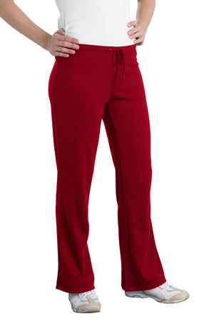 Port AuthorityLadies Silk Touch Mesh Knit Pant.