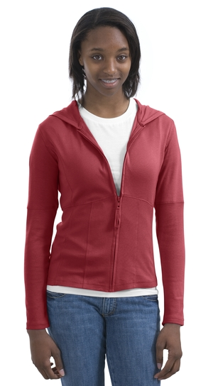 Port Authority® L490 Ladies Soft Touch Hoodie