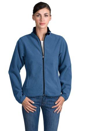 Port Authority L200 Ladies Tiger Mountain Fleece Jacket.