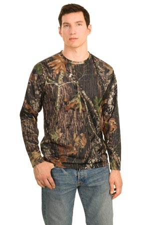 Port Authority K466MOLS Long Sleeve Mossy Oak Performance T-Shirt.
