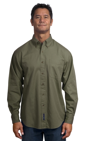 Port Authority® S600T Long Sleeve Twill Shirt