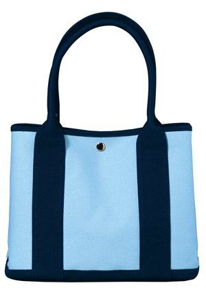 Port Authority B461 Mini Canvas Tote with Contrast Handles.