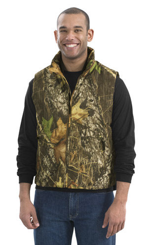 Port Authority J795MO Mossy Oak Padded Vest.