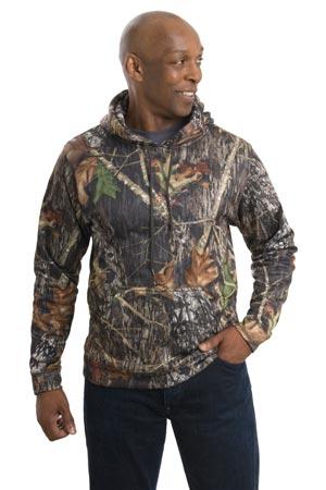 Port Authority® F245 Mossy Oak® Sport-Wick® Hooded Sweatshirt