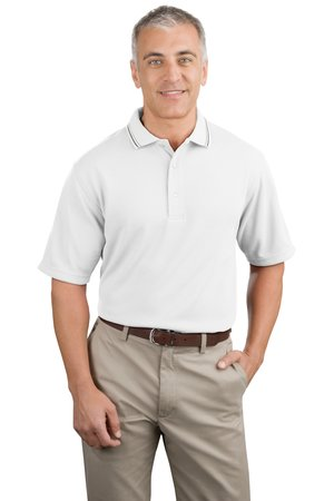 Port Authority® K438 Ottoman Rib Sport Shirt with Open Hem Sleeves