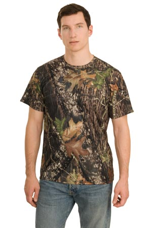 Port Authority K466MO Short Sleeve Mossy Oak  Performance T-Shirt.