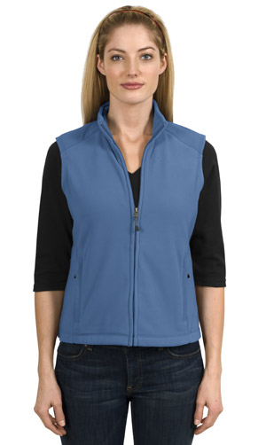 Port Authority Signature L103 Ladies Activo Microfleece Vest.