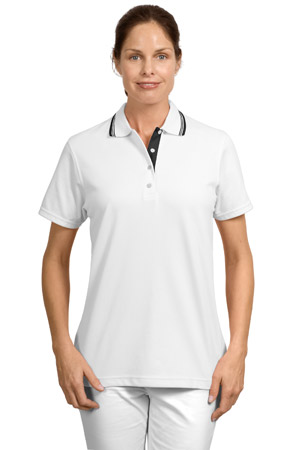 Port Authority® L456 Ladies Rapid Dry™ Polo with Contrast Trim