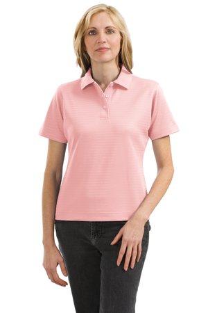 Port Authority Signature L459 Ladies Shadow Stripe InterlockSport Shirt.