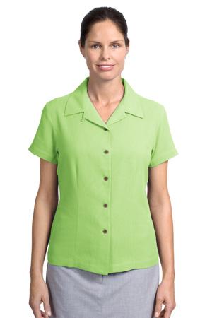 Port Authority®  L533 Ladies Silk Blend Camp Shirt