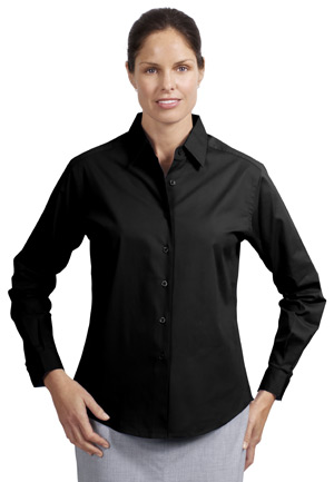 Port Authority® L620 Ladies Stretch Poplin Shirt