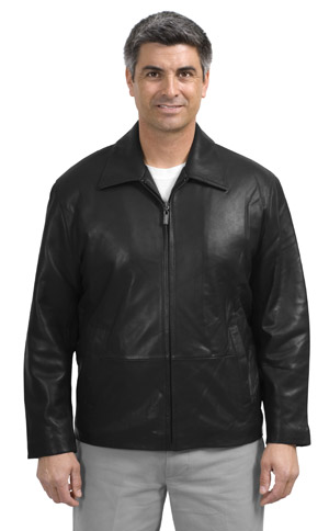 Port Authority Signature J785 Park Avenue Lambskin Jacket.