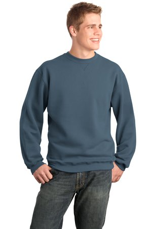 Port Authority Signature F290 Sueded Finish Crewneck Sweatshirt.
