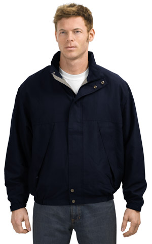 Port Authority Signature J740 Textured Microfiber Jacket.