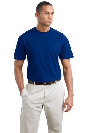 Port Authority K550 Silk Touch Crewneck Shirt.